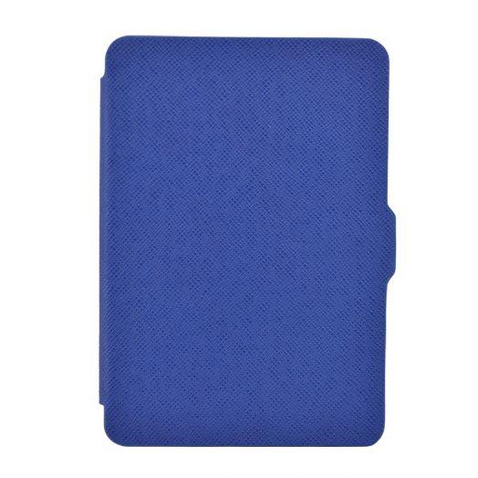 Чехол-обложка  для Amazon Kindle Paperwhite Синия (с магнитной застежкой)