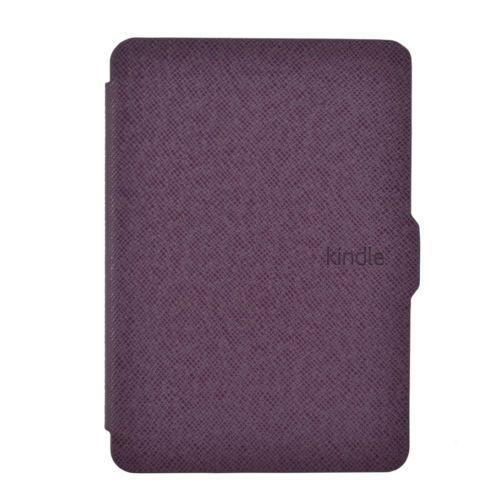 Чехол-обложка  для Amazon Kindle Paperwhite Фиолетовая (с магнитной застежкой)